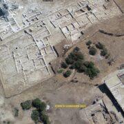 Αεροφωτογραφία του νότιου τμήματος του ιερού. Κάτω δεξιά διακρίνεται το νέο Κτίριο Ψ που πιθανόν να ταυτίζεται με δεξαμενή Δεσποτικό Αποτελέσματα ανασκαφών σε Δεσποτικό και Τσιμηντήρι                    2020 1 180x180