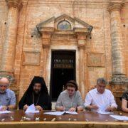 Προγραμματική σύμβαση μονής Τζαγκαρόλων Υπουργείο Πολιτισμού Υπουργείο Πολιτισμού: Αυτοψία της Υπουργού και νέα έργα στα Χανιά                                                                                     180x180
