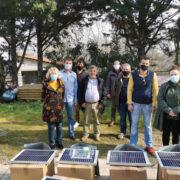 Οι μελισσοκόμοι σε Οίτη και Καλλίδρομο απέκτησαν ηλεκτρικές περιφράξεις                                                 180x180
