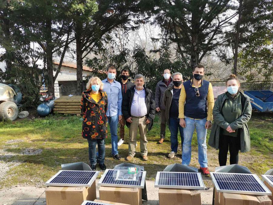 Οι μελισσοκόμοι σε Οίτη και Καλλίδρομο απέκτησαν ηλεκτρικές περιφράξεις