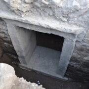 Πύλη πρωτοβυζαντινής οχύρωσης Κάστρο Μυτιλήνης Κάστρο Μυτιλήνης: Αποκάλυψη νέων αρχαιολογικών στοιχείων 2