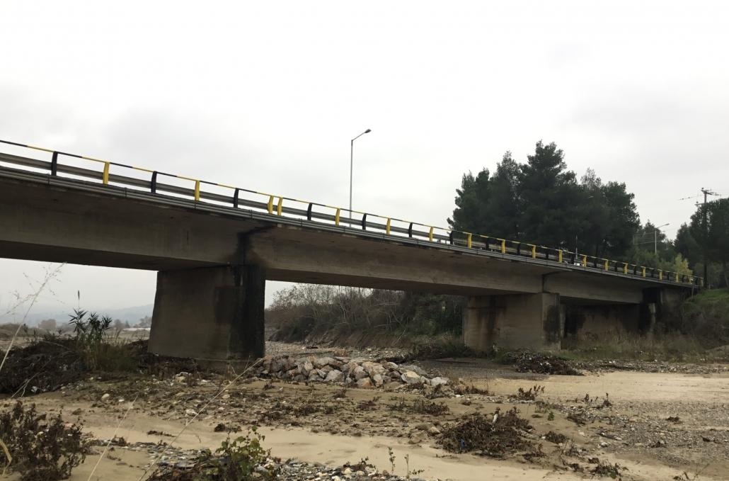Ξεκινά η επισκευή της γέφυρας Ξηριά Εύβοια Εύβοια: Ξεκινά η επισκευή της γέφυρας Ξηριά XHRIAS2 scaled 1