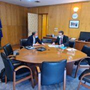 Συνάντηση Ι. Μπούγα με Κ. Καραμανλή  Συνάντηση Ι. Μπούγα με Κ. Καραμανλή                                    1 180x180
