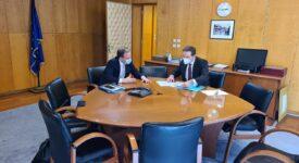 Συνάντηση Ι. Μπούγα με Κ. Καραμανλή  Συνάντηση Ι. Μπούγα με Κ. Καραμανλή                                    1 275x150