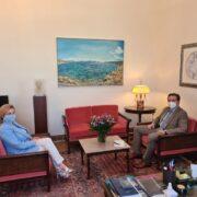 Συνάντηση Ι. Μπούγα με την Πρόεδρο της Επιτροπής Περιβάλλοντος της Βουλής  Συνάντηση Ι. Μπούγα με την Πρόεδρο της Επιτροπής Περιβάλλοντος της Βουλής                                             180x180