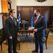 Συνάντηση Ιωάννη Μπούγα με τον Αν. Υπουργό Εσωτερικών  Συνάντηση Ιωάννη Μπούγα με τον Αν. Υπουργό Εσωτερικών                             180x180