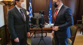 Συνάντηση Ιωάννη Μπούγα με τον Αν. Υπουργό Εσωτερικών  Συνάντηση Ιωάννη Μπούγα με τον Αν. Υπουργό Εσωτερικών                             275x150