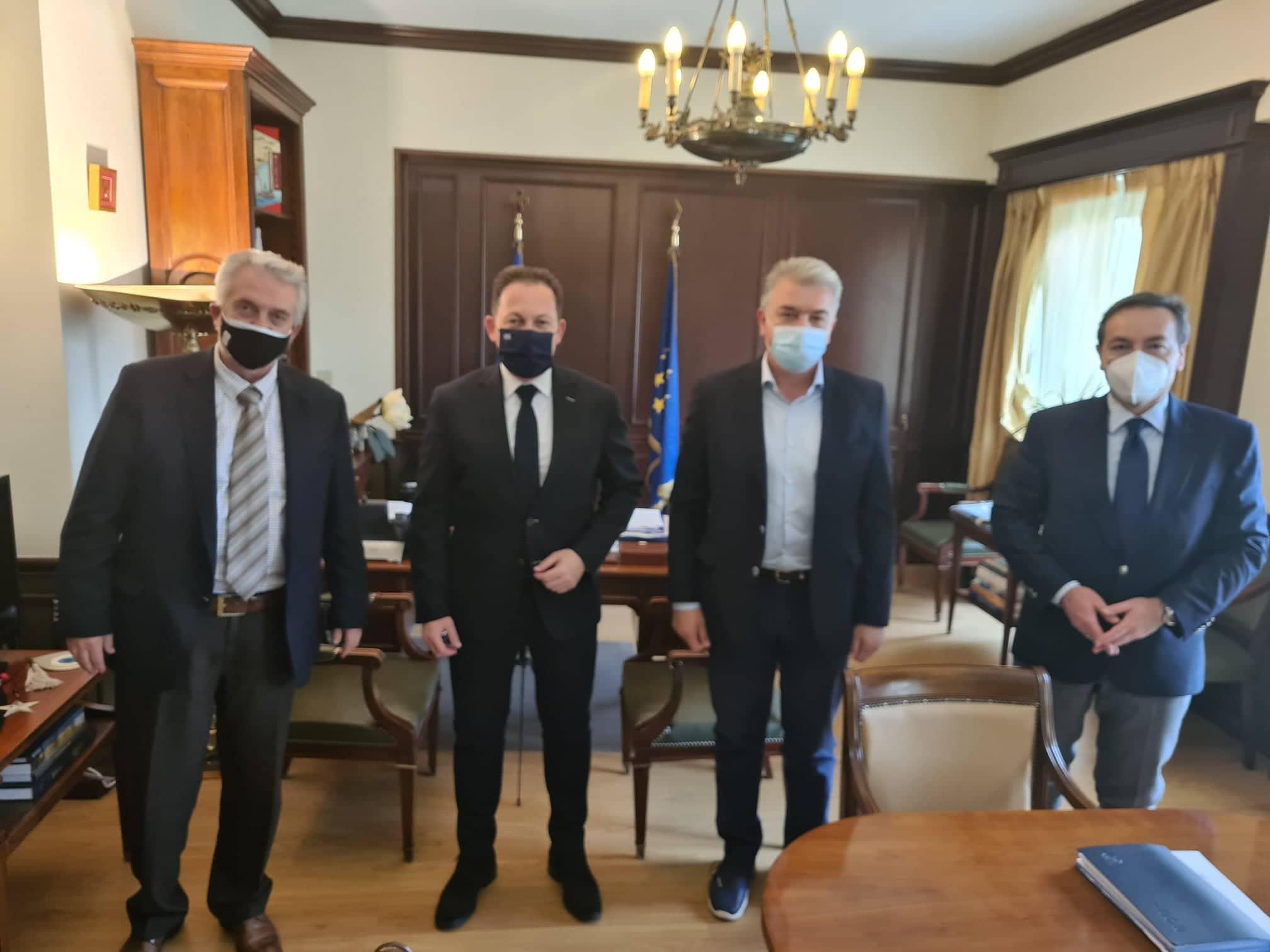 Φωκίδα: Σύσκεψη στο Υπουργείο Εσωτερικών  Φωκίδα: Σύσκεψη στο Υπουργείο Εσωτερικών                                              1
