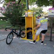 Σταθμός επισκευής ποδηλάτων Σύγχρονος σταθμός επισκευής ποδηλάτων στα Τρίκαλα Σύγχρονος σταθμός επισκευής ποδηλάτων στα Τρίκαλα                                                      180x180