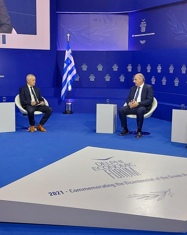 Οικονομικό Φόρουμ Δελφών Ο Γιάννης Οικονόμου στο 6ο Οικονομικό Φόρουμ Δελφών elphi Economic Forum VI 2