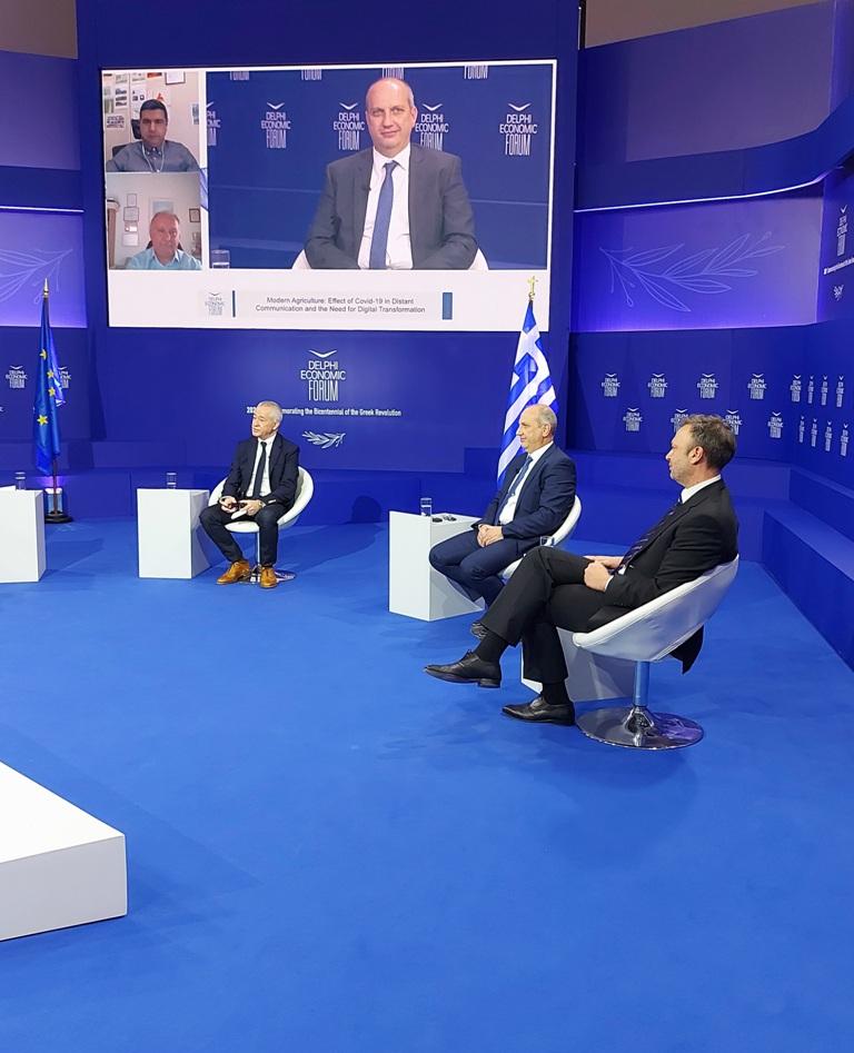 Οικονομικό Φόρουμ Δελφών Ο Γιάννης Οικονόμου στο 6ο Οικονομικό Φόρουμ Δελφών elphi Economic Forum VI3