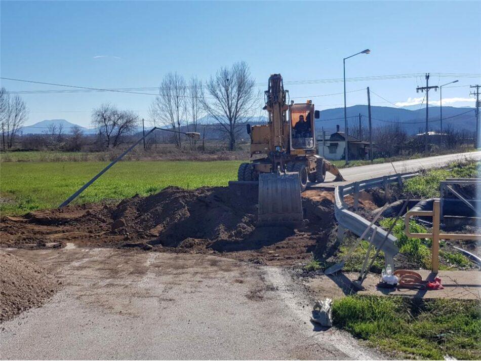 Αποκαθίστανται οι ζημιές στην επαρχιακή οδό Καρδίτσας-Κρύας Βρύσης  Αποκαθίστανται οι ζημιές στην επαρχιακή οδό Καρδίτσας-Κρύας Βρύσης                                                                                                                              950x713