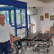 Δωρεά φορείων και αναπηρικών αμαξιδίων στο Νοσοκομείο Θηβών  Δωρεά φορείων και αναπηρικών αμαξιδίων στο Νοσοκομείο Θηβών                                                                                                                 180x180