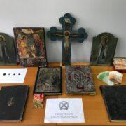 Ιωάννινα: Σύλληψη για παραβίαση της νομοθεσίας περί αρχαιοτήτων και εν γένει της πολιτιστικής κληρονομιάς  Ιωάννινα: Σύλληψη για παραβίαση της νομοθεσίας περί αρχαιοτήτων και εν γένει της πολιτιστικής κληρονομιάς                                                                                                                                                                                                     180x180