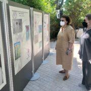 Λίνα Μενδώνη, με την πρόεδρο του Μουσείου, Φαλή Βογιατζάκη  Παγκόσμια Ημέρα Περιβάλλοντος στο Μουσείο Γουλανδρή Φυσικής Ιστορίας                                                                                                                     1 180x180