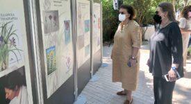 Λίνα Μενδώνη, με την πρόεδρο του Μουσείου, Φαλή Βογιατζάκη  Παγκόσμια Ημέρα Περιβάλλοντος στο Μουσείο Γουλανδρή Φυσικής Ιστορίας                                                                                                                     1 275x150