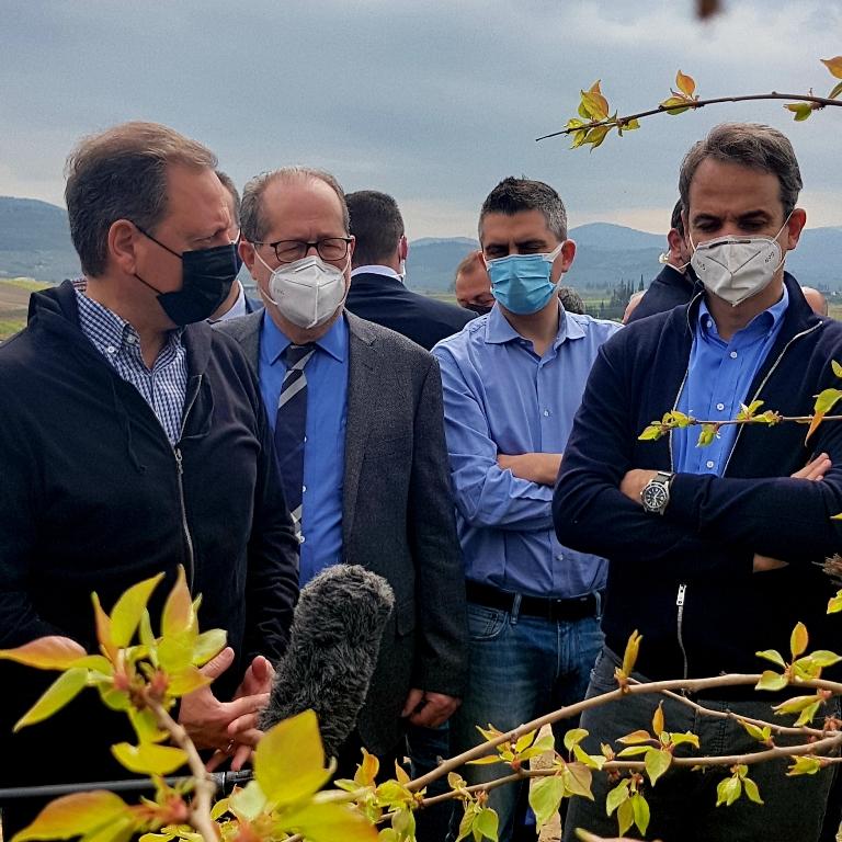Λιβανός-Επίσκεψη με ΚΜ Σπαθοβούνι  Οι παραγωγοί της Νεμέας θα αποζημιωθούν εκτός κανονισμών του ΕΛΓΑ