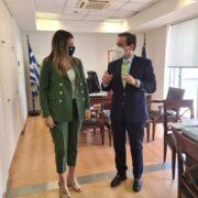 Συνάντηση Ιωάννη Μπούγα με την Υφυπουργό Τουρισμού  Συνάντηση Ιωάννη Μπούγα με την Υφυπουργό Τουρισμού                                 15 06 21 180x180