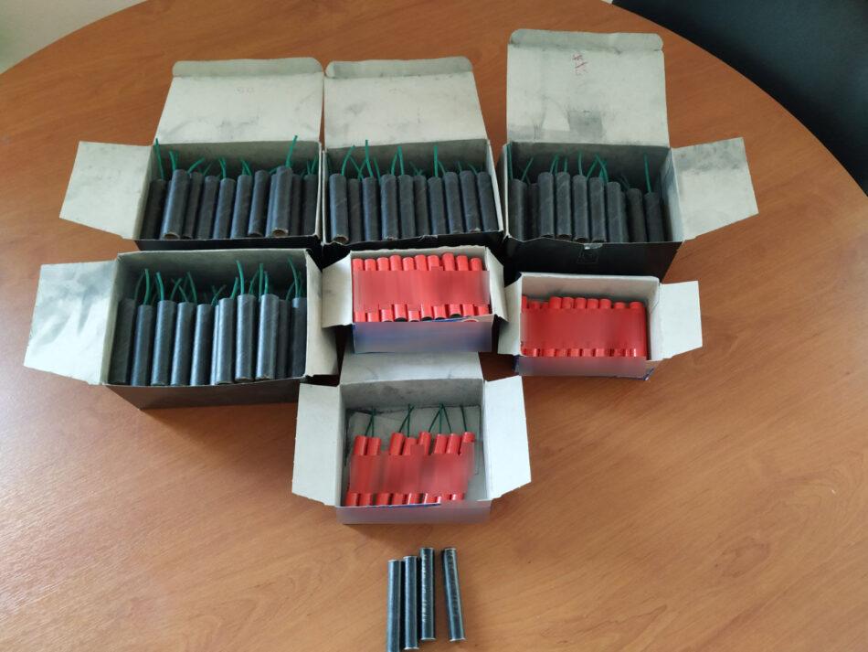 Συλλήψεις στη Θήβα για παραβάσεις του νόμου περί βεγγαλικών  Συλλήψεις στη Θήβα για παραβάσεις του νόμου περί βεγγαλικών                                                                                                                950x713