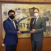 Συνάντηση Λιβανού με πρεσβευτή ΗΑΕ  Συνάντηση Λιβανού με πρεσβευτή ΗΑΕ                                                                  180x180