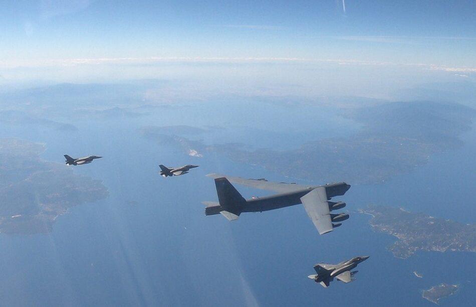 Συμμετοχή της ΠΑ σε Αποστολή Συνοδείας Αμερικανικού Αεροσκάφους B-52  Συμμετοχή της ΠΑ σε Αποστολή Συνοδείας Αμερικανικού Αεροσκάφους B-52                     52 1 950x612