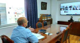 Τηλεδιάσκεψη Γιάννη Οικονόμου με εκπροσώπους των ΤΟΕΒ Φθιώτιδας  Τηλεδιάσκεψη Γιάννη Οικονόμου με εκπροσώπους των ΤΟΕΒ Φθιώτιδας                                                                                                                         275x150