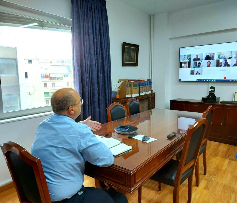 Τηλεδιάσκεψη Γιάννη Οικονόμου με εκπροσώπους των ΤΟΕΒ Φθιώτιδας  Τηλεδιάσκεψη Γιάννη Οικονόμου με εκπροσώπους των ΤΟΕΒ Φθιώτιδας                                                                                                                         950x815
