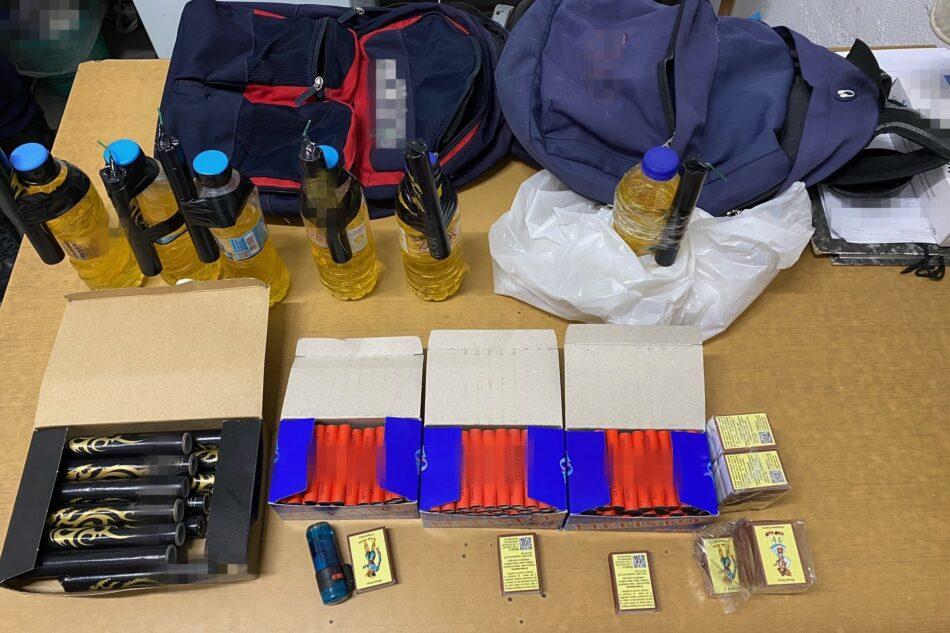 Συλλήψεις σε Κάλυμνο, Πάρο, Νάξο για παραβάσεις του νόμου περί βεγγαλικών  Συλλήψεις σε Κάλυμνο, Πάρο, Νάξο για παραβάσεις του νόμου περί βεγγαλικών 03052021krotidesnotio001 950x633