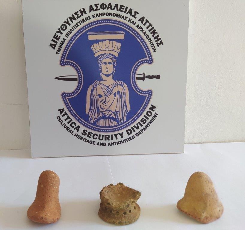Σύλληψη αρχαιοκάπηλου στη Λακωνία 15062021arxaiagada001