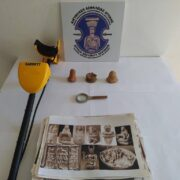 Σύλληψη αρχαιοκάπηλου στη Λακωνία  Σύλληψη αρχαιοκάπηλου στη Λακωνία 15062021arxaiagada002 180x180