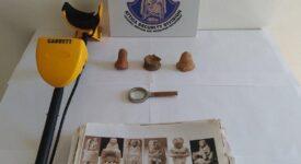 Σύλληψη αρχαιοκάπηλου στη Λακωνία  Σύλληψη αρχαιοκάπηλου στη Λακωνία 15062021arxaiagada002 275x150