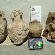 Συλλήψεις για καλλιέργεια ναρκωτικών, κατοχή εκρηκτικών και αρχαιοκαπηλεία  Κάλυμνος: Συλλήψεις για εκρηκτικά, καλλιέργεια ναρκωτικών και αρχαιοκαπηλεία 16062021arxaia 180x180