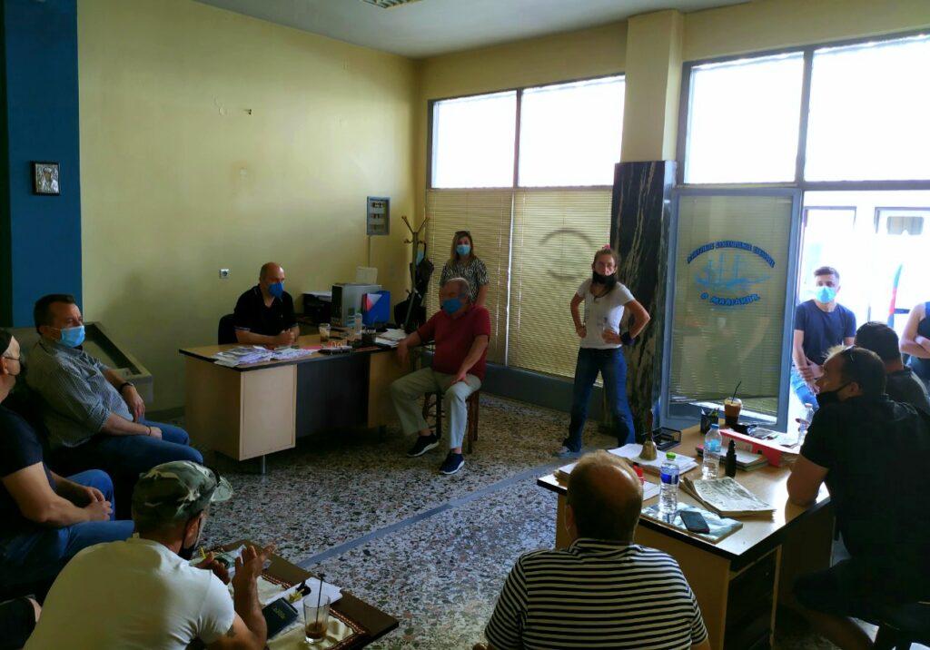 Στυλίδα Στυλίδα: Συνάντηση Γιάννη Οικονόμου με επαγγελματίες αλιείς IMG 20210605 WA0001 1024x716