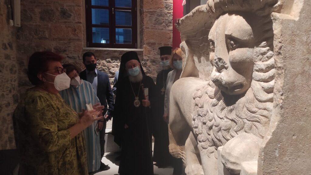Ολοκληρώθηκε και λειτουργεί το Αρχαιολογικό Μουσείο Χαλκίδας «Αρεθούσα» arethousa5 1024x576