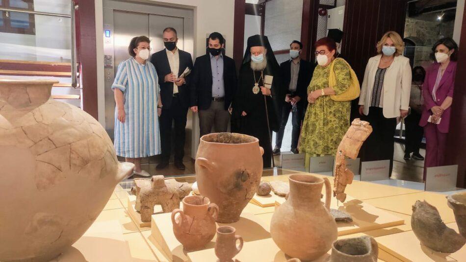 Ολοκληρώθηκε και λειτουργεί το Αρχαιολογικό Μουσείο Χαλκίδας  Ολοκληρώθηκε και λειτουργεί το Αρχαιολογικό Μουσείο Χαλκίδας «Αρεθούσα» arethousa6 950x535
