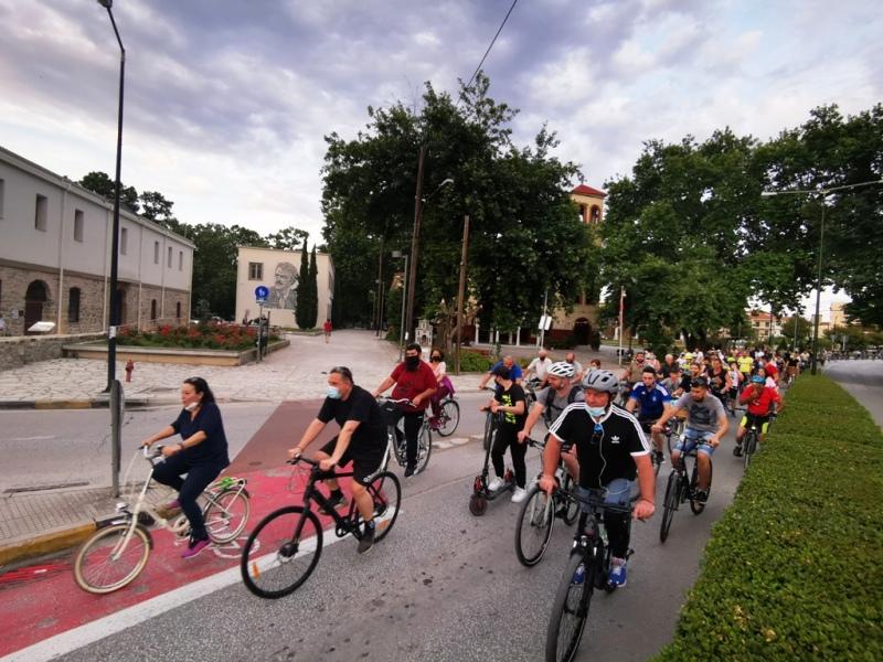 Μεγάλη ποδηλατάδα στα Τρίκαλα για την Παγκόσμια Ημέρα Ποδηλάτου podilatada 20218aaaa