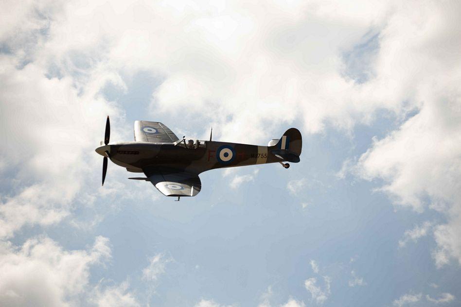 Τελετή Άφιξης του Αεροσκάφους Supermarine Spitfire MJ755 της ΠΑ tn 11