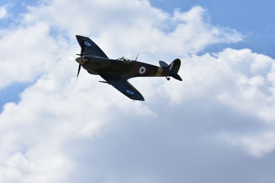 Τελετή Άφιξης του Αεροσκάφους Supermarine Spitfire MJ755 της ΠΑ tn 12