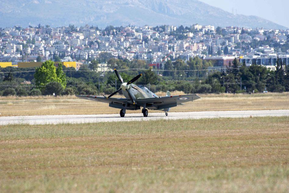Τελετή Άφιξης του Αεροσκάφους Supermarine Spitfire MJ755 της ΠΑ tn 13