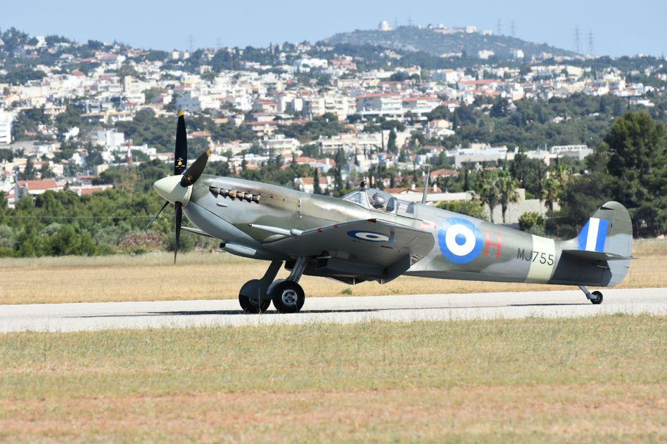 Τελετή Άφιξης του Αεροσκάφους Supermarine Spitfire MJ755 της ΠΑ tn 18