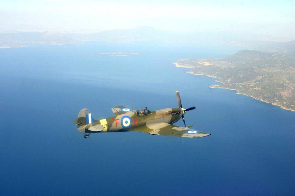 Τελετή Άφιξης του Αεροσκάφους Supermarine Spitfire MJ755 της ΠΑ tn 194909636 706041093485873 6013933501106550926 n