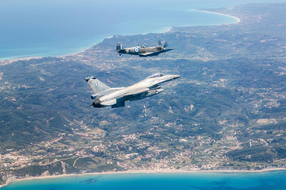Τελετή Άφιξης του Αεροσκάφους Supermarine Spitfire MJ755 της ΠΑ tn 20