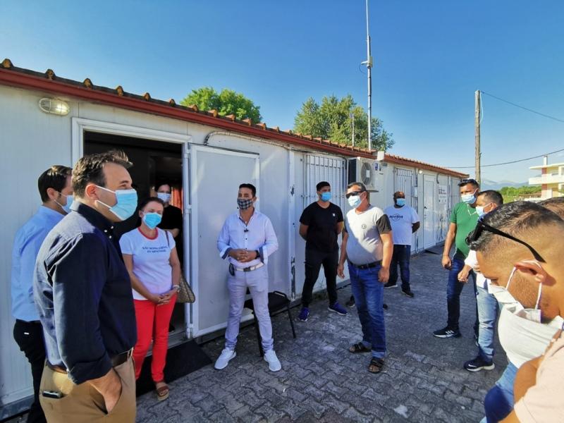 Αρχισε η ενημέρωση για εμβολιασμό των τρικαλινών Ρομά  Αρχισε η ενημέρωση για εμβολιασμό των τρικαλινών Ρομά