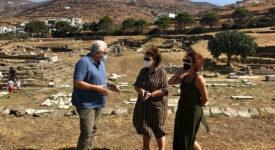 Αυτοψία Λίνας Μενδώνη σε μνημεία της Τήνου                                                                                                                                          275x150