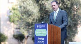 Σπήλιος Λιβανός  Σπήλιος Λιβανός: Το 50% του Ελλαδικού χώρου κινδυνεύει με ερημοποίηση, αν αδρανήσουμε       1 275x150