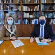 Μπούγας-Μακρή  Επίσκεψη του Βουλευτή Φωκίδας στο Υπουργείο Παιδείας                           180x180