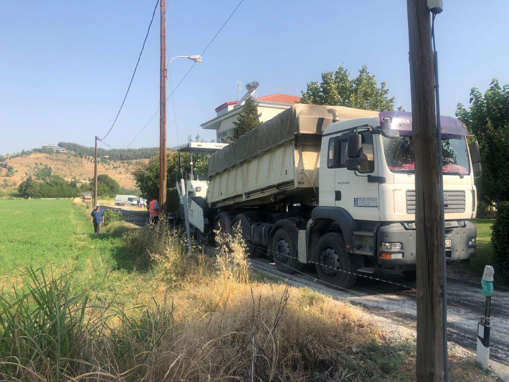 Νέες ασφαλτοστρώσεις σε Τρίκαλα και χωριά τους                                                                                        4