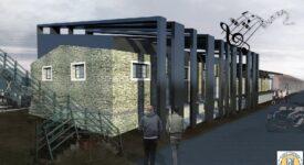 Οι αποθήκες του ΟΣΕ στα Τρίκαλα  Οι αποθήκες του ΟΣΕ στα Τρίκαλα μετατρέπονται σε πολυχώρο τέχνης και πολιτισμού                                                           275x150