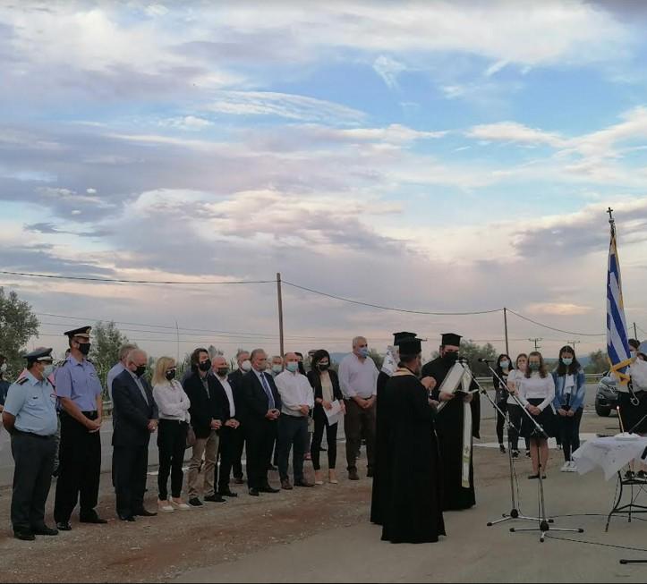 Ο Δήμος Λεβαδέων τίμησε τη μνήμη των θυμάτων του Ολοκαυτώματος στο Καλάμι  Ο Δήμος Λεβαδέων τίμησε τη μνήμη των θυμάτων του Ολοκαυτώματος στο Καλάμι
