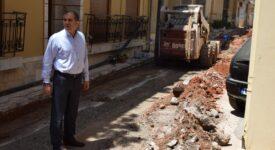 Προχωρά η αντικατάσταση του παλαιού δικτύου ύδρευσης στην Καλαμάτα  Προχωρά η αντικατάσταση του παλαιού δικτύου ύδρευσης στην Καλαμάτα                                                                                                                              275x150